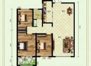 德州紫东苑户型E三室两厅127平