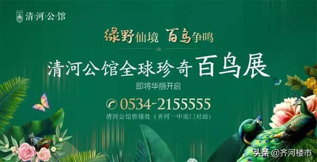 齐河清河公馆 首届全球珍奇百鸟音乐会,即将华丽开启!